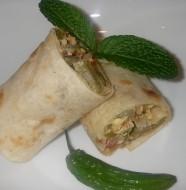 Nopales Frittata Burrito