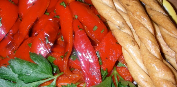 Roasted Peppers (Peperoni Arrostiti)