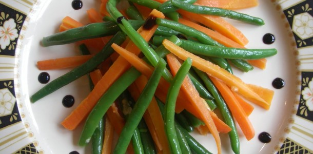 A Side of Carrots & Green Beans
