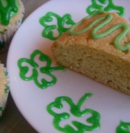 Irish Whiskey Cake with Avocado Cream Frosting