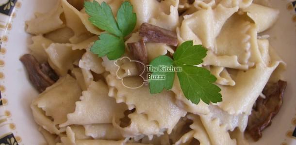 Fresh Pasta with Porcini Mushrooms