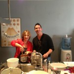 Chef Nancy and Sous-chef John - it's all easy & fun