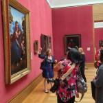 The course began with an art tour led by Nancy DeLucia Real, Museum Educator & Chef Instructor