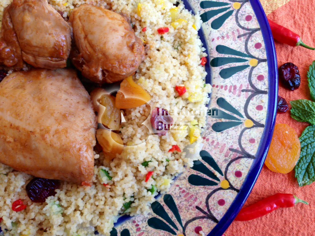 tagine moroccan chicken tagine with cranberry curry couscous recipe ...