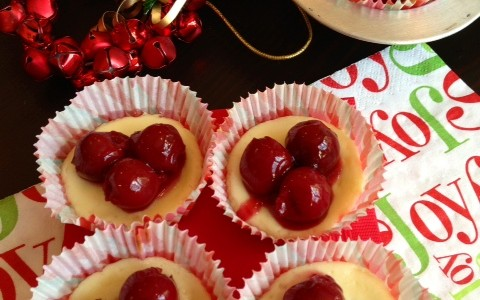 Christmas Cheesecakes