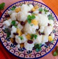 Cauliflower,Orange&Raisins