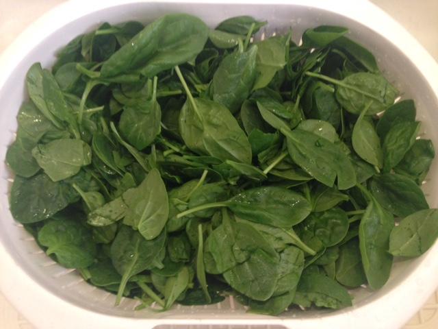 Spinach.Colander