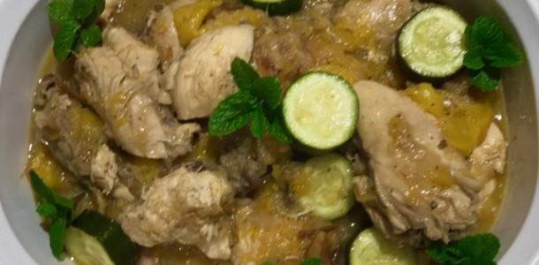 Image.Chickenw.Squash&PeachSauce
