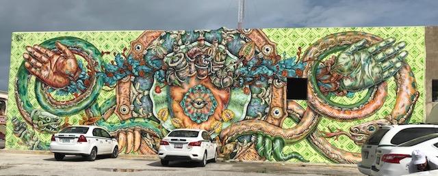Image.CancunMuralBlvd.Kukulkan